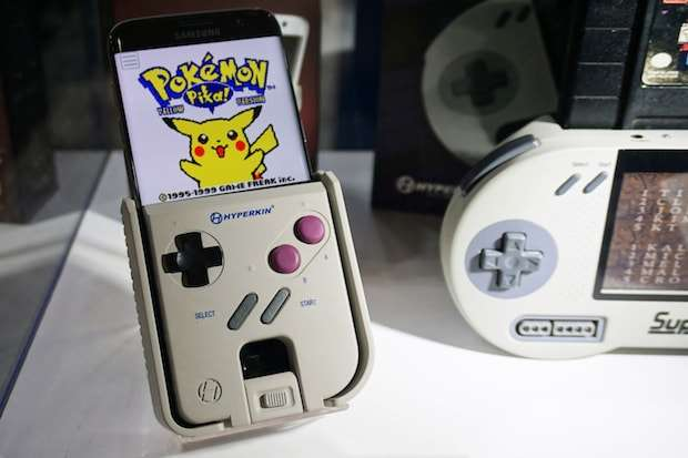 Gameboy just got revived! This Addon turns your smartphone into a Gameboy! 1