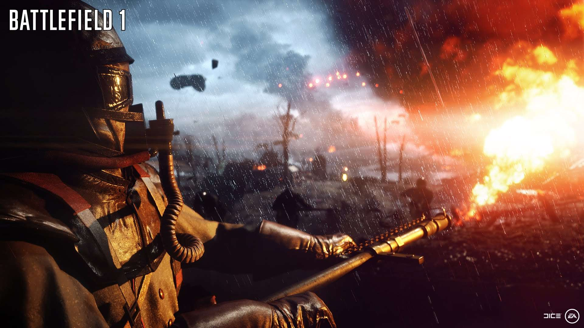 E3 2016: Battlefield 1 Going To Feature Dynamic Weather, Airships, Armored Train and More 5