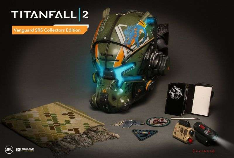 Titanfall 2's Collector's Edition costs $250, comes with a glowing helmet 1