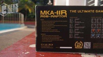 Armaggeddon MKA-11R RGB-RAPTOR Mechanical Keyboard Review: A SPORTY LOOKING KEYBOARD 5
