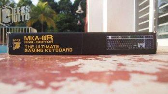 Armaggeddon MKA-11R RGB-RAPTOR Mechanical Keyboard Review: A SPORTY LOOKING KEYBOARD 4