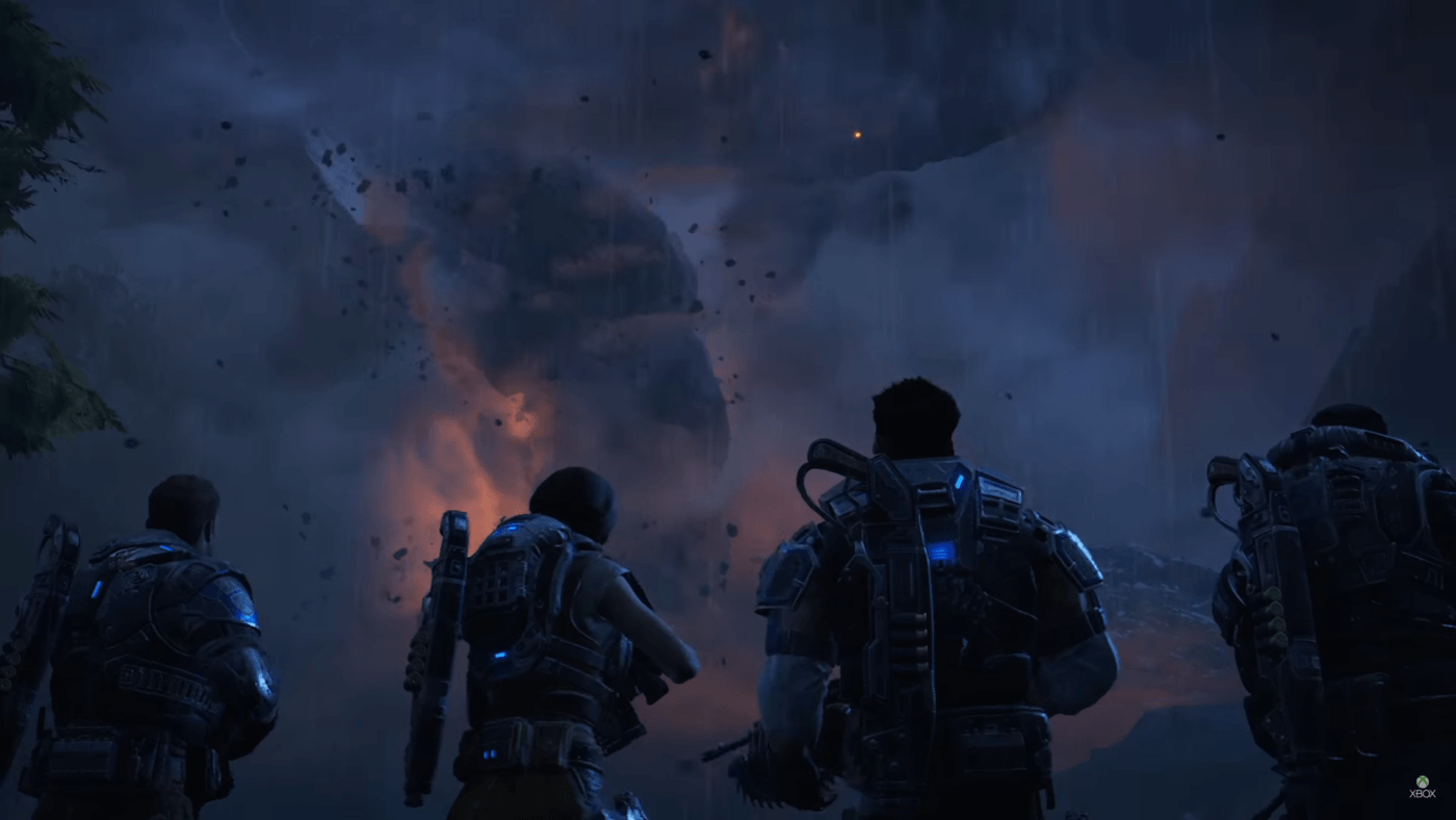 Gears of War 4 gets 7 minutes of Campaign Walkthrough from Microsoft, 2TB GOW4 Xbox One Revealed 1