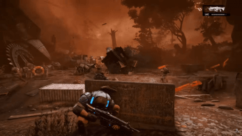 Gears of War 4 gets 7 minutes of Campaign Walkthrough from Microsoft, 2TB GOW4 Xbox One Revealed 7