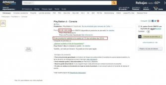 Amazon Spain leaks the pricing and release date of the Playstation 4 Neo? 1