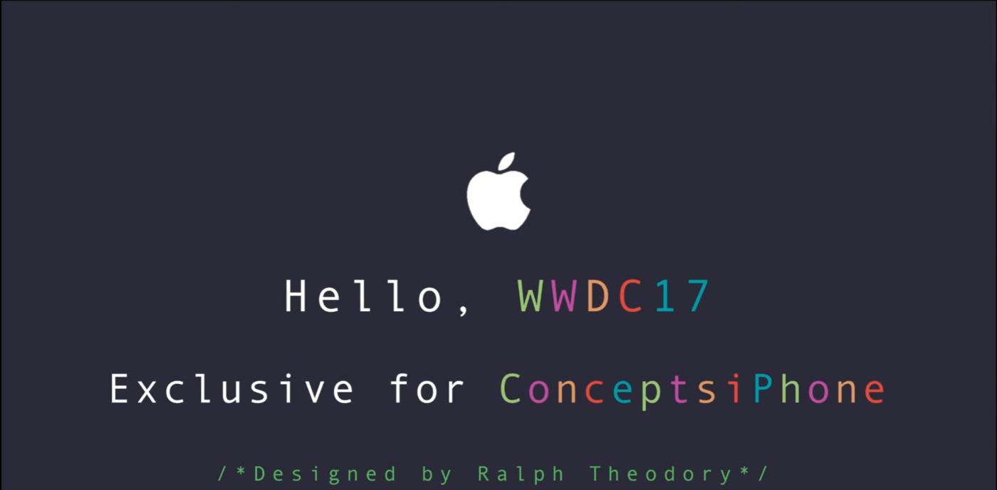 iOS 11 Concept Looks Dazzling, Showcases Excellent Ideas 1