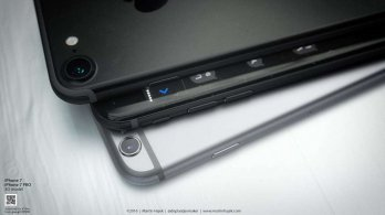 8 Sleek iPhone 7 rendered images in Black will keep you Drooling 4