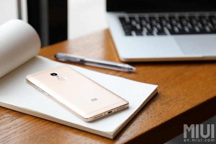 Redmi Note 4 Rear Promo Image