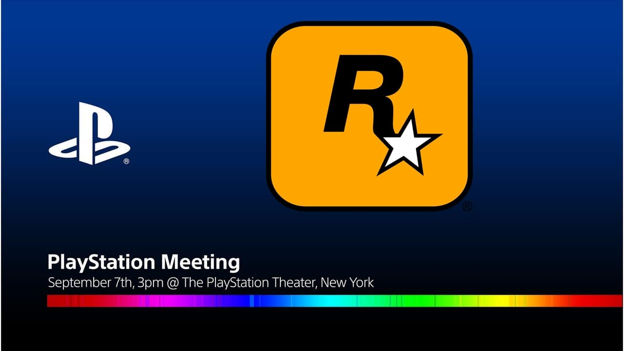 Rockstar to Reveal Something New at Sony's PlayStation Meeting