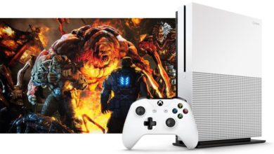 The Xbox One S from Microsoft