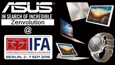 ASUS Unveils Their Fleet of Notebooks, SmartWatch, PCs and Monitors at IFA 2016 1