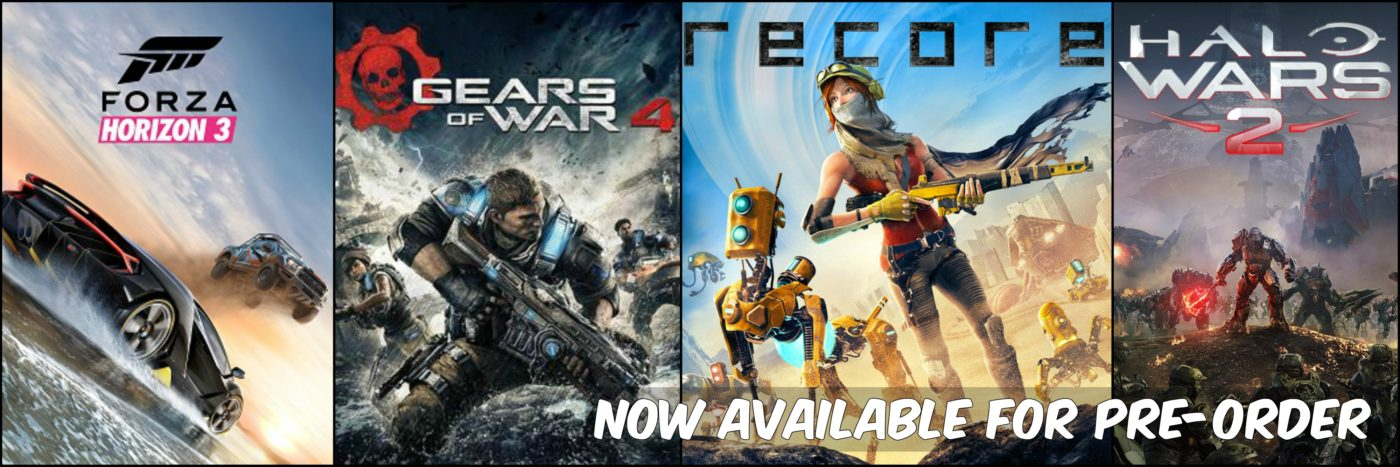 Forza Horizon 3, ReCore, Gears of War 4 and Halo Wars 2 Now Available for Pre-Order 1