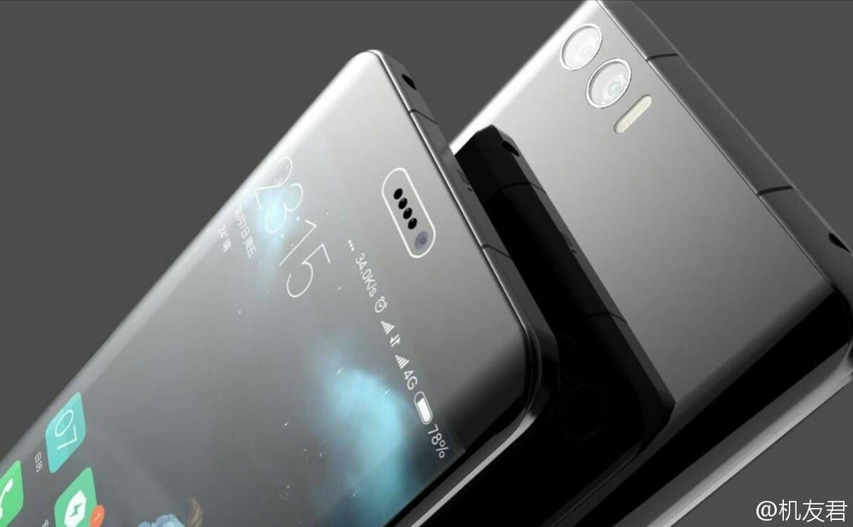 Xiaomi's Ripped Off Samsung Galaxy Note 7 Render Leaks Ahead Of Launch 1