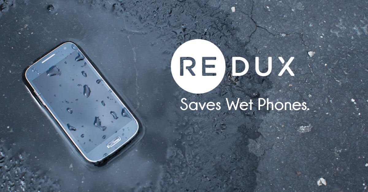 """""""Redux"""" Revives Any Water Damaged Smartphone, Smartwatch Or Earphones - And Its Better Than Rice 1"""