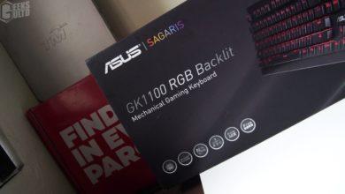Asus SAGARIS GK1100 RGB Mechanical Keyboard Review 71