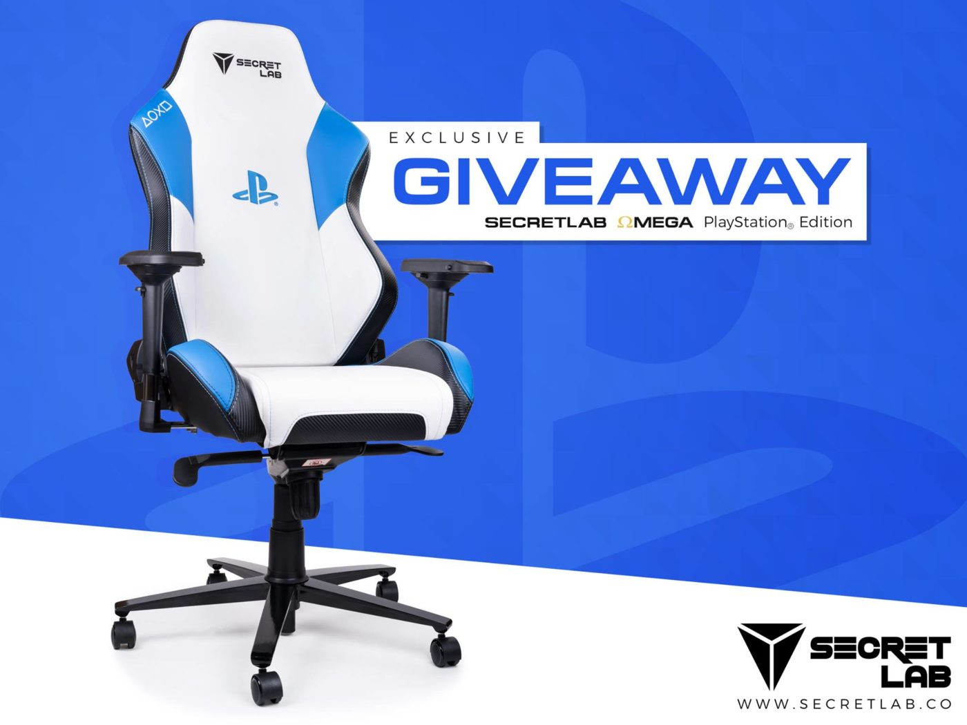 Peachy Secretlab Is Giving Away Two Playstation Omega Gaming Chairs Pdpeps Interior Chair Design Pdpepsorg