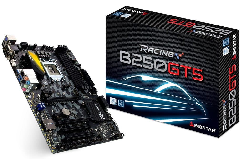BioStar Announces Enthusiast B250 Racing Series Motherboards, Starting At $79 1