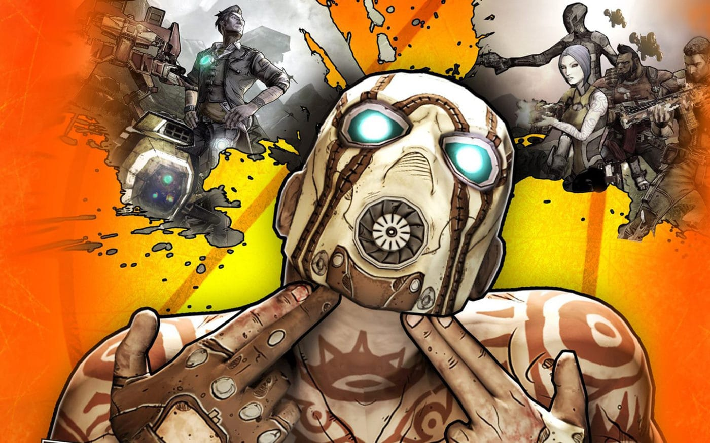 Borderlands 2 GIF In Black & White With The HUD Absent Is Absolutely Stunning 1