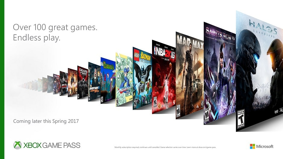 Microsoft Goes All Out On Expandability: Gives Unlimited Access To 100+ Games For $9.99/Month 1