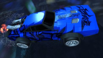 """Rocket League """"Fast and the Furious"""" DLC Officially Revealed, Dom's """"Ice Charger"""" Pictured In-Game 4"""