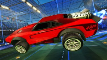"""Rocket League """"Fast and the Furious"""" DLC Officially Revealed, Dom's """"Ice Charger"""" Pictured In-Game 1"""