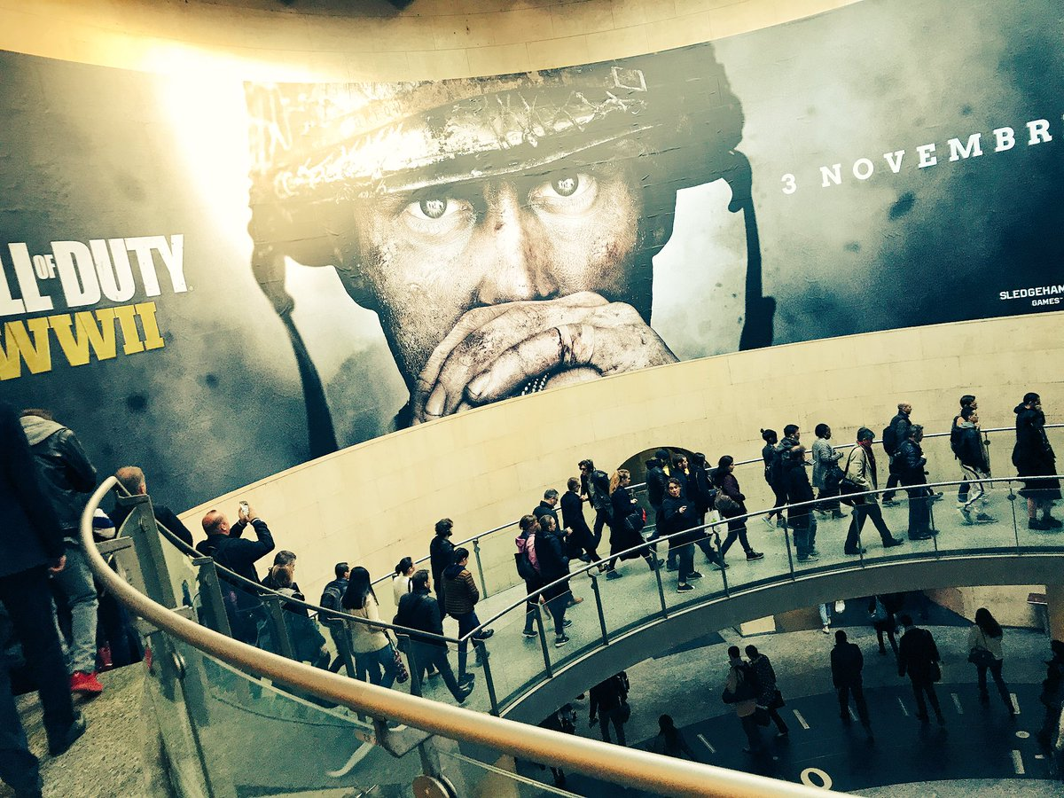 Ad Banner in Paris Confirms Call Of Duty WWII Release Date 1