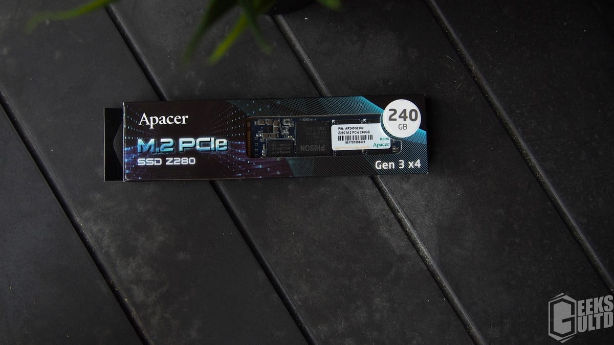 Apacer Z280 240GB M.2 NVMe SSD Review: Its Wicked Fast For $120 5