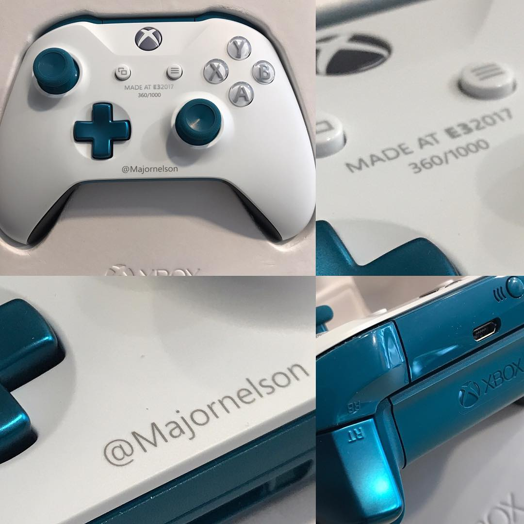 Xbox's Major Nelson Shows Off Limited Edition E3 2017 Xbox