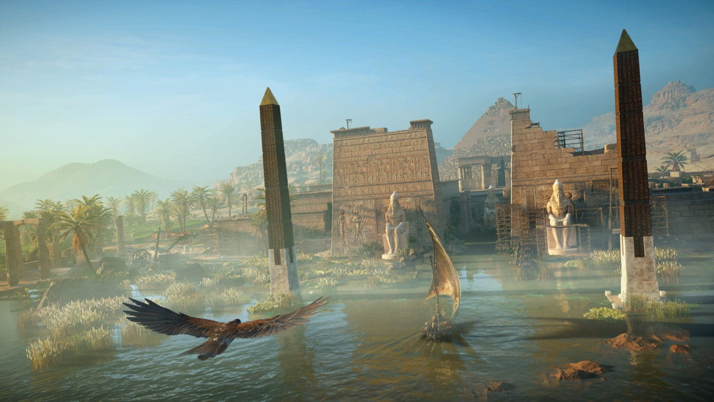 Assassin's Creed Origins Does Not Run At Native 4K On The Xbox One X 1