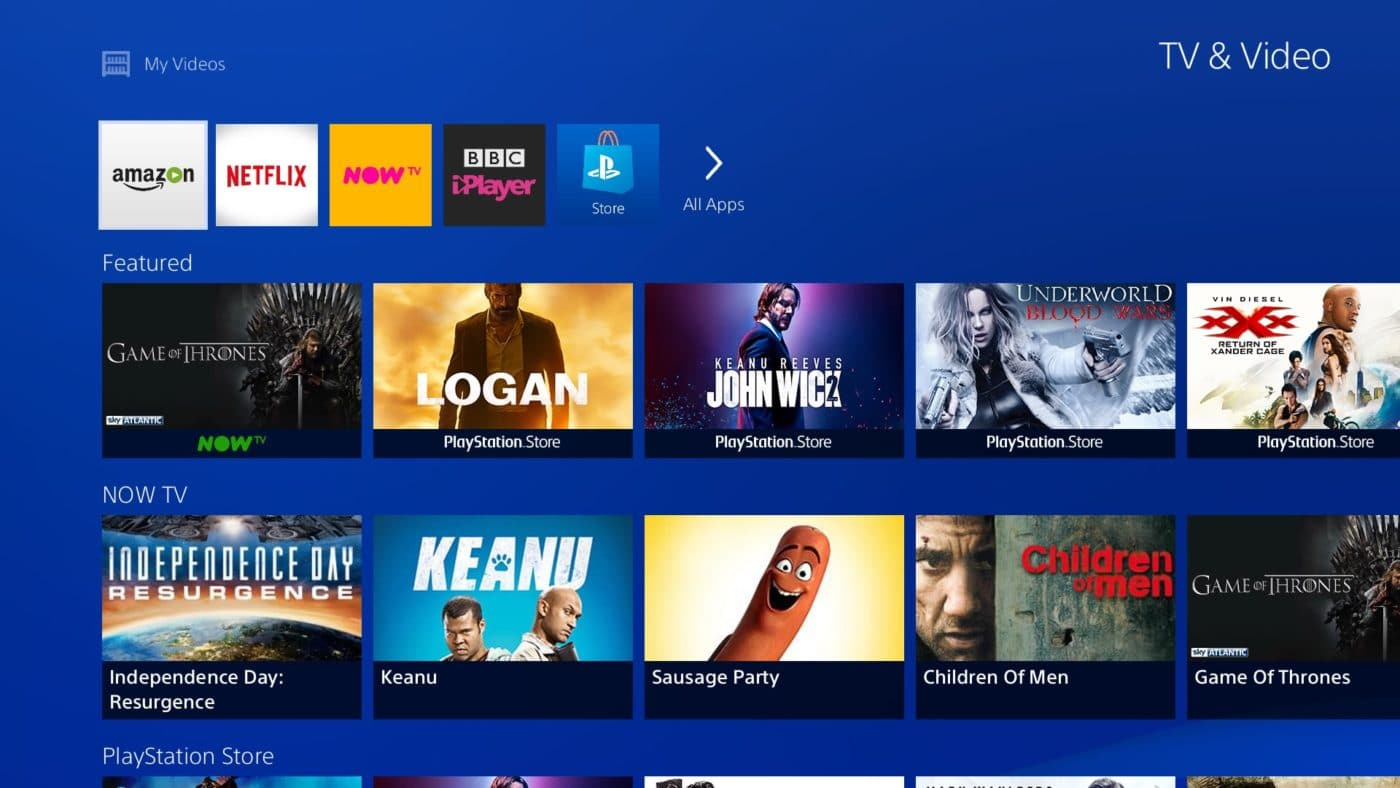Sony Gives Their PlayStation 4 Media Section UI A Refreshed Makeover 1