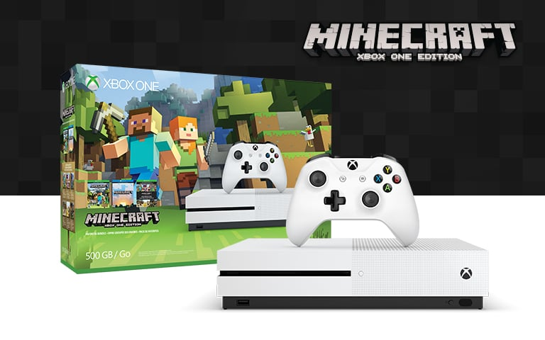 You Can Currently Grab a Brand New Xbox One S 500GB With Minecraft for Only $200