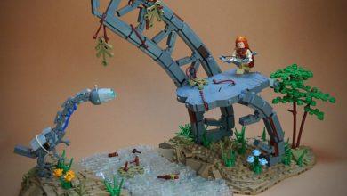 This Fan-Made Horizon Zero Dawn Lego Set Is Amazing
