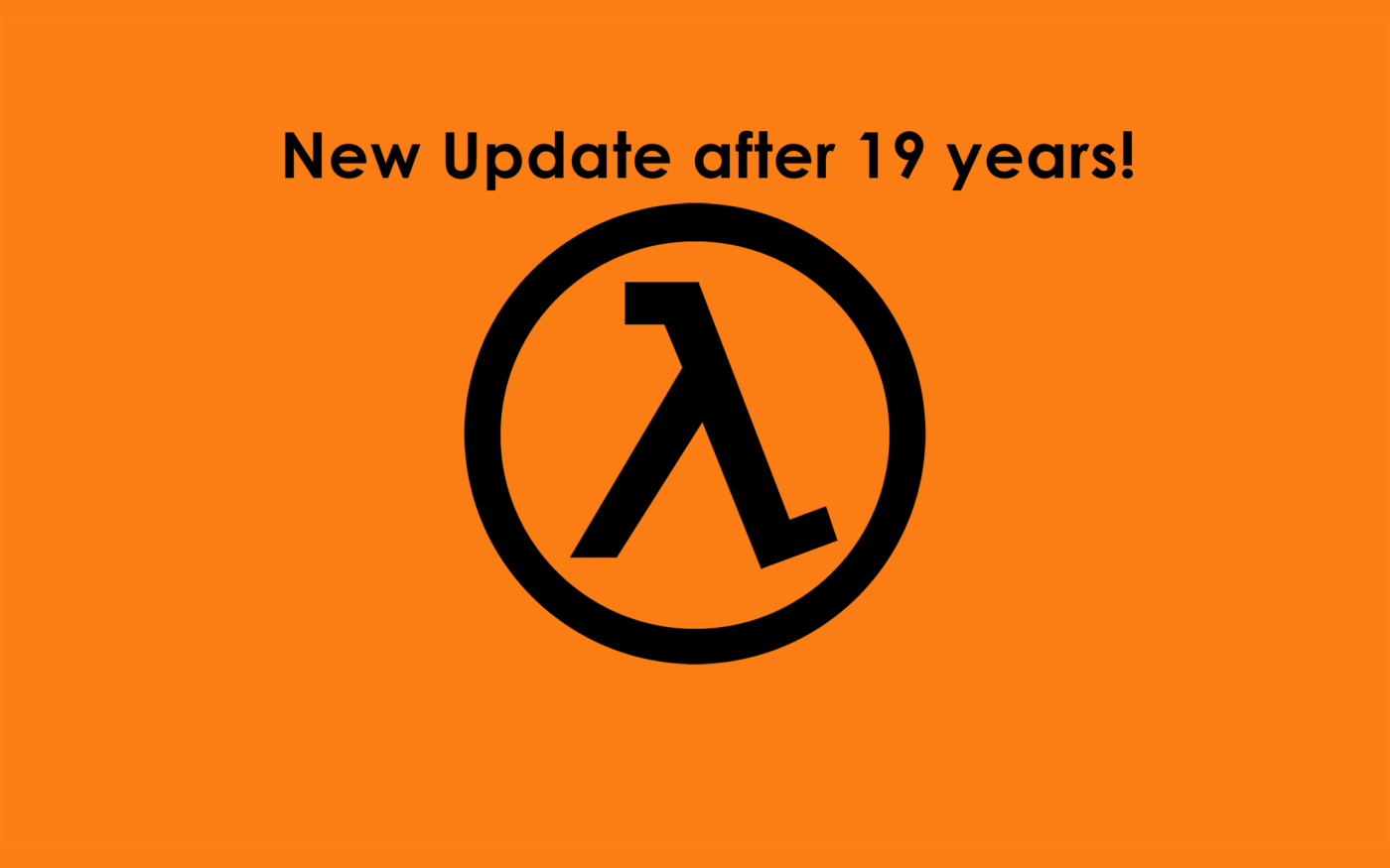Half-Life Receives an Update, 19 Years After It's Launch