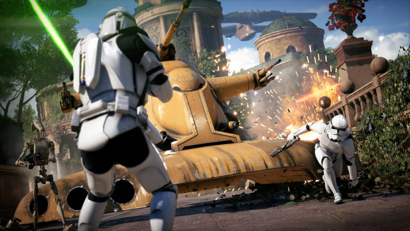 EA Releases Star Wars Battlefront 2 Trailer, And Its Serious 1