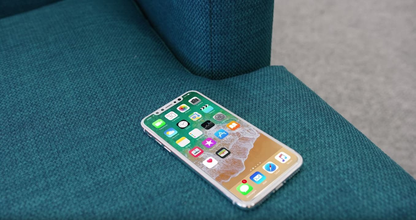Rumor: iPhone 8 UI Screenshot Indicates No Function Area and No Physical/Virtual Home Button