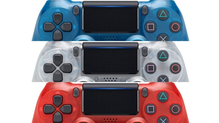 Sony Reveals New Translucent Dualshock 4 Controllers In Three Colors 3