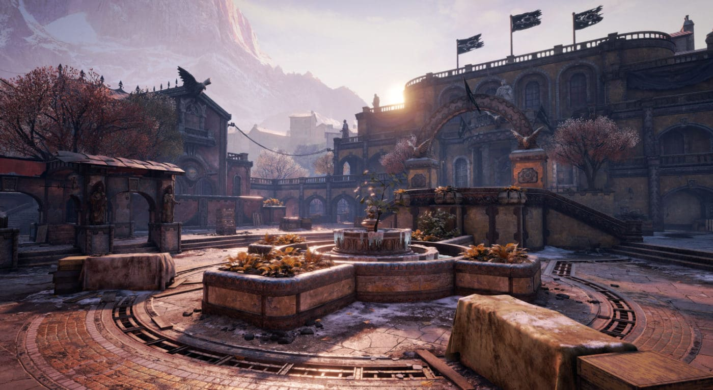 """Gears of War 4"" Mercy multiplayer map"