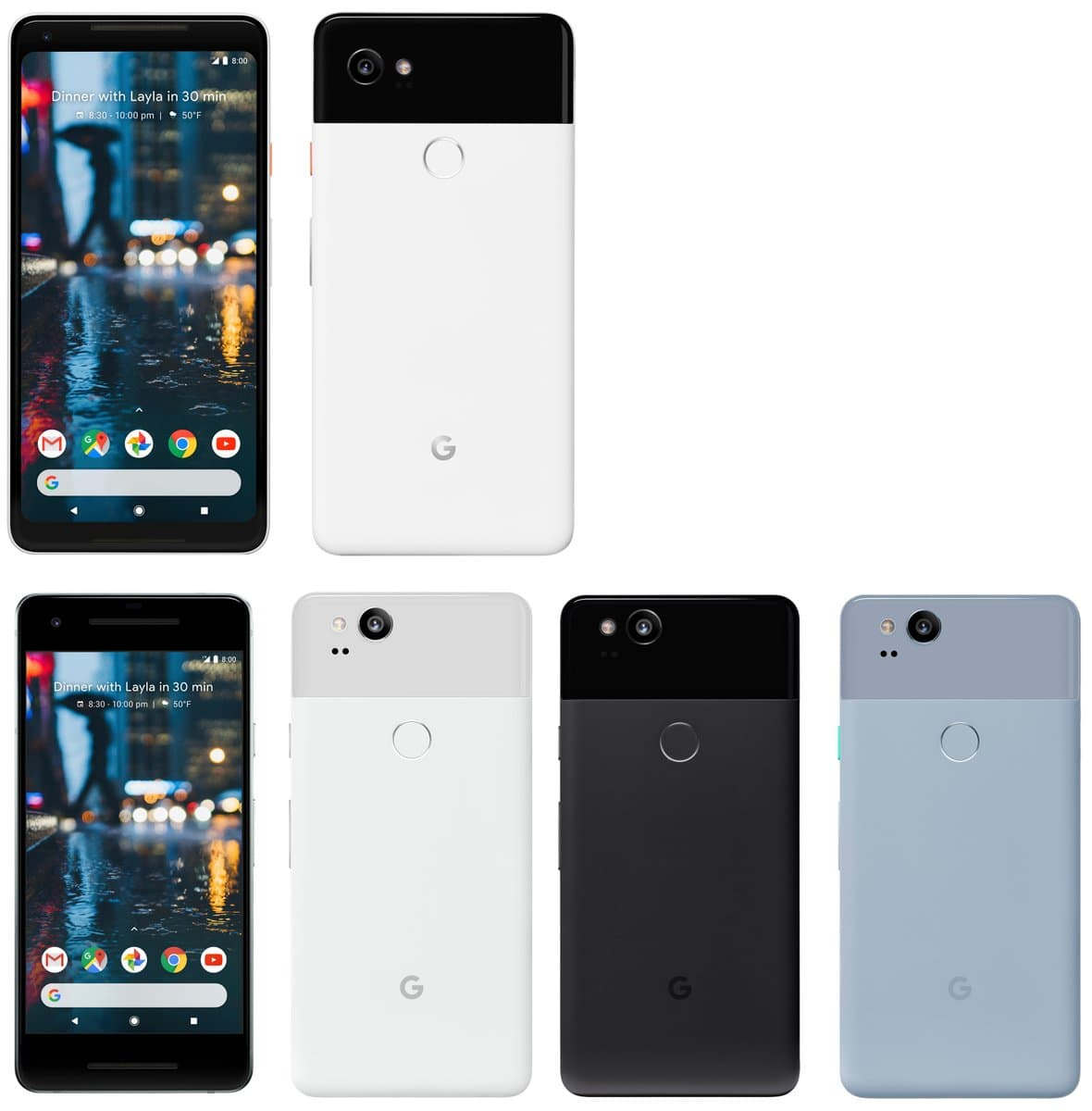 Google Pixel 2 XL Leak Suggests A Bigger Screen With Dual Front-Facing Speakers 1