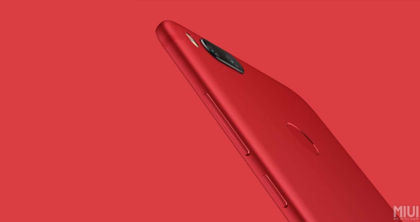 """Xiaomi Mi 5X """"Red Edition"""" is Now Officially Out"""