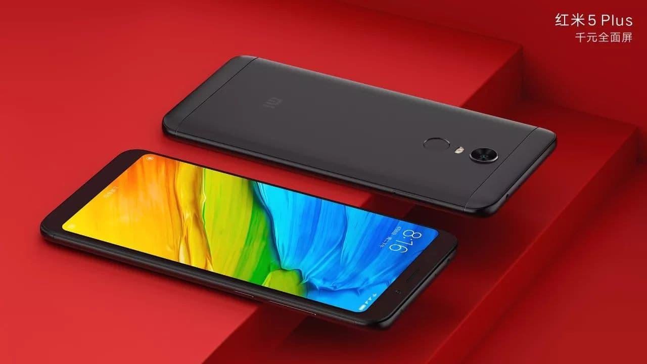 The Xiaomi Redmi 5 Plus