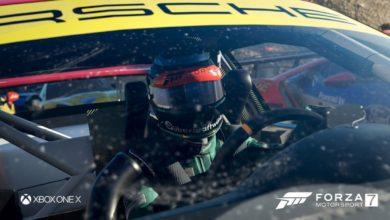 Forza Motorsport 7 Windshield Driver