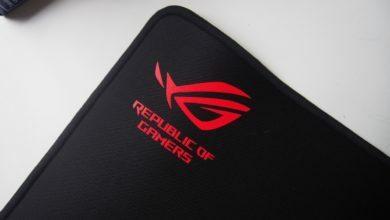 Asus Scabbard Logo ROG Red