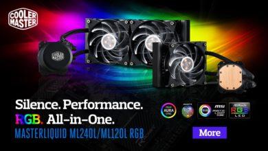 Cooler Master MasterLiquid RGB 120 240 ML