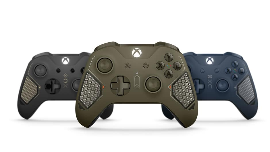 Microsoft Releases Combat Tech Special Edition Xbox Wireless Controller 3
