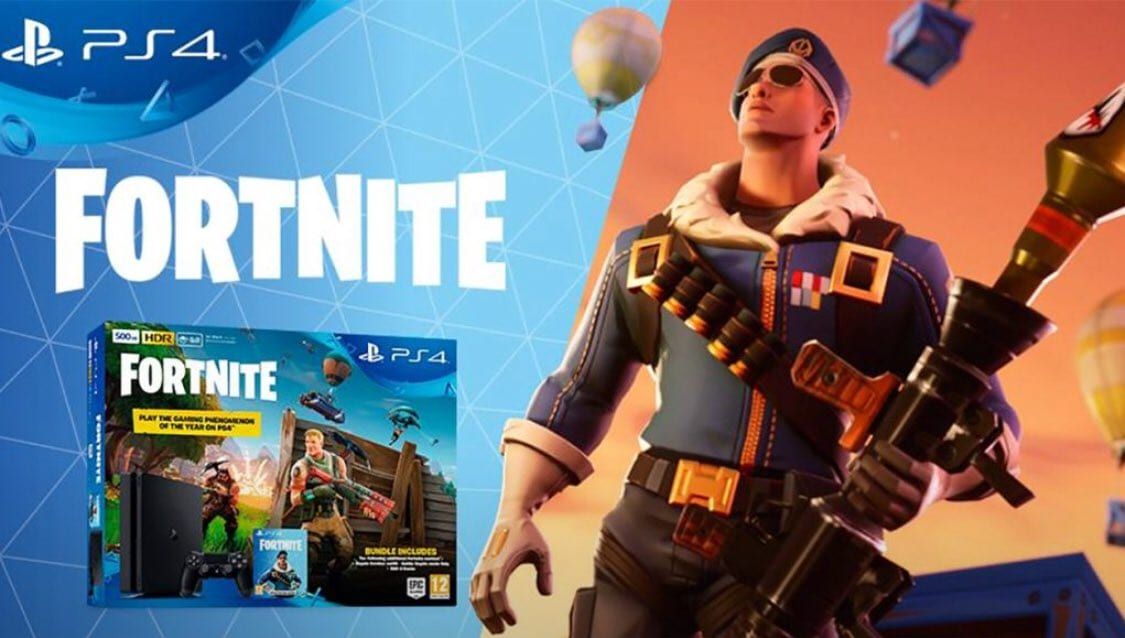 Sony to Launch Fortnite-Themed PlayStation 4 That Packs An Exclusive Skin 4