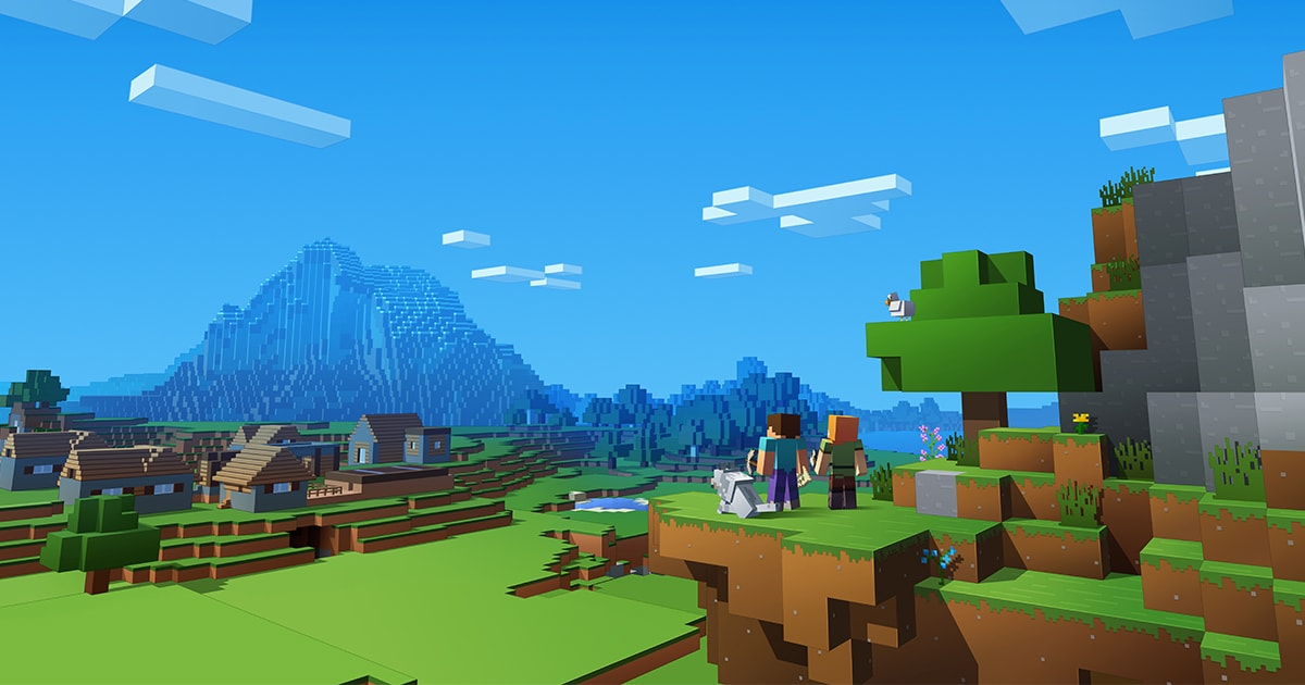 Nintendo And Microsoft Threw Shade At Sony's Lack Of Crossplay In The Minecraft Trailer 3