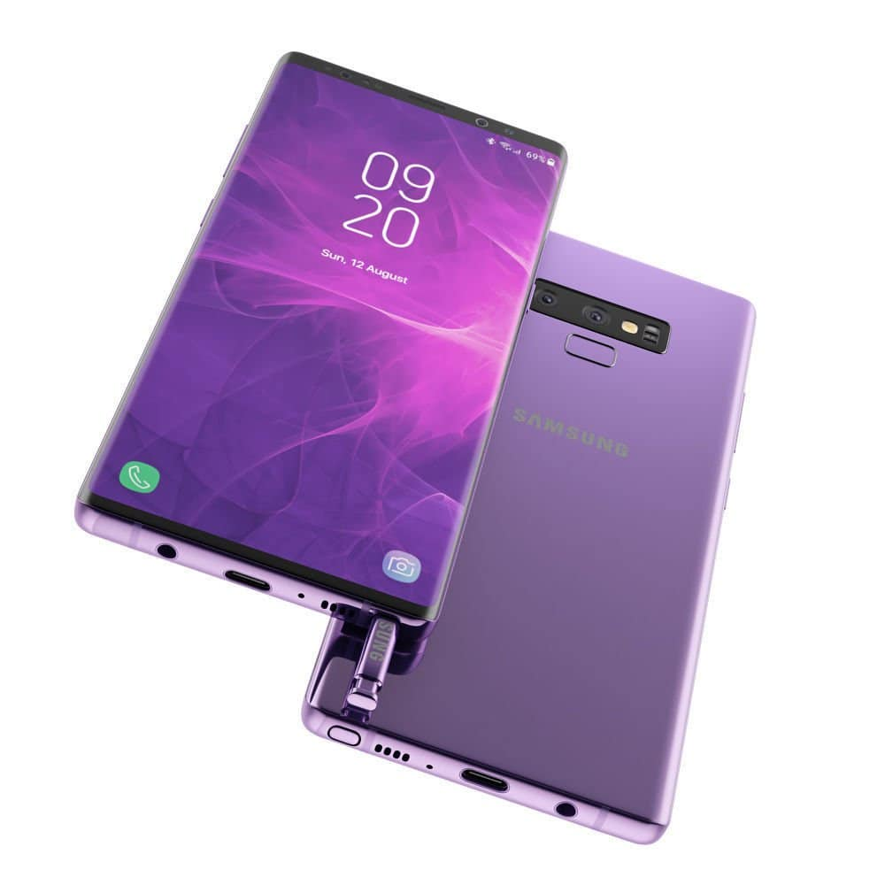 Watch The Samsung Galaxy Note 9 Ruffle Its Feathers In This Concept Trailer 1