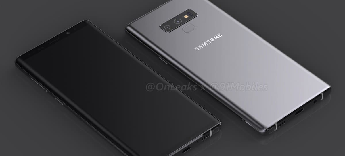 Poster With A Samsung Galaxy Note 9 Leaked 3