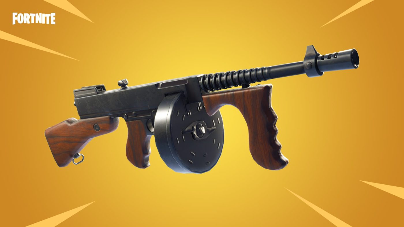 The Drum Gun Finally Makes Its Way Into Fortnite With Patch v4.5, Here's The Full Patch Notes 1
