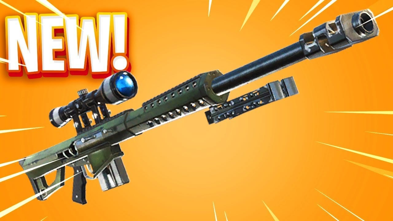 A New Massive Sniper Is Coming To Fortnite, Dubbed As The 'Heavy Sniper' 1