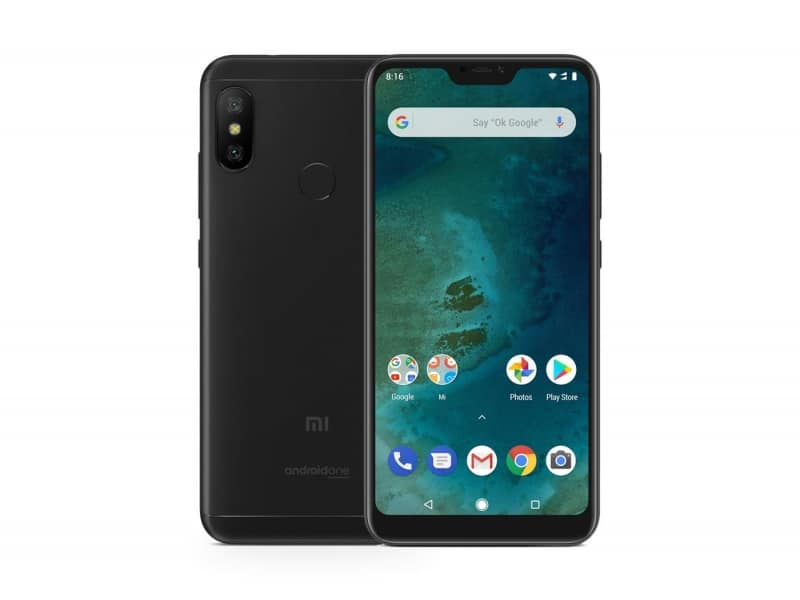 Xiaomi Mi A2 Lite Showcases Yet Another 'Notched' Device 3
